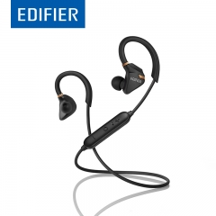 EDIFIER W296BT Bluetooth Earphones Waterproof IPX5 Strong Bass Stereo Bluetooth 4.1 Earphone black