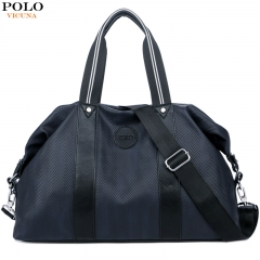 VICUNA POLO New Oxford Large Capacity Travel Bag Casual Man Handbag Multifunction Business Luggage black large