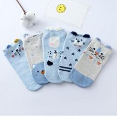 Newest Funny Women Socks Casual Work Business Cotton Cartoon Cat Fashion Sock random one size