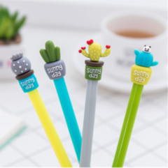 Kawaii Creative Cute Cactus Pen marker Neutral gel pen student stationery school office supplies