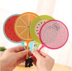 fan pen creative DIY ball pen round head woolen fruit stationery wholesale Student Award office