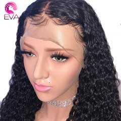 Pre Plucked 360 Lace Frontal Wigs With Baby Hair Lace Front Human Hair Wig For Women black one size