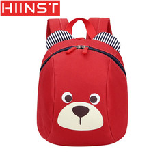 HIINST Cute Children Bag Cartoon Bear anti-lost Baby Backpack 1-3 Years Old Boys And 1
