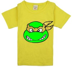 Boys Tops Summer Children T shirts Boys Clothes Kids Tee Shirt Fille 100% Cotton Turtle Character 1 90cm cotton
