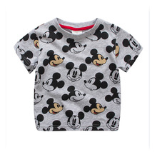 2018 Kids Fashion T-shirts for boys Children T-shirts Baby girls Mickey style Tops tees clothes 1 90cm cotton