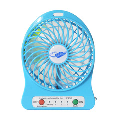 Usb fan hand-held rechargeable fan student desktop carry mini fan