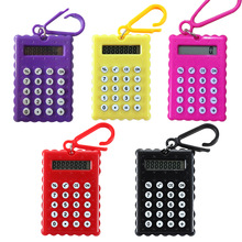 NOYOKERE Hot Sale Student Mini Electronic Calculator Candy Color Calculating Office Supplies Gift