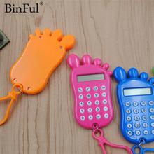 BinFul stationery card portable calculator mini handheld ultra-thin Card calculator Power
