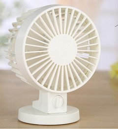 New second generation double leaf fan USB mini quiet small fan computer USB heat dissipation fan