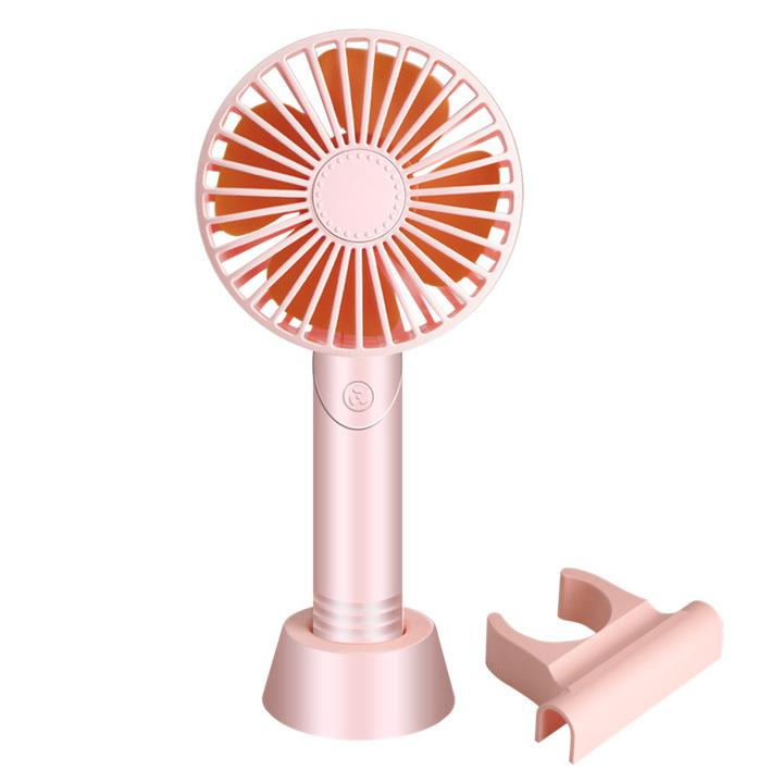Aromatherapy USB fan mini handheld small fan mobile phone bracket desktop charging fan gift fan