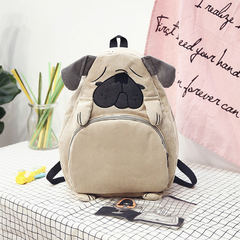 2017 new fashion women backpack school bag canvas cute animal ear embroidery 1