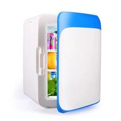 10L Mini Refrigerator Mini Refrigerator Mini Refrigerator Automotive Mini Household Car Cooling blue