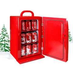 Coca Cola car refrigerator Mini refrigerator Refrigeration Home dormitory red