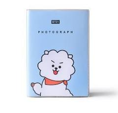 1 Pcs Kawaii BT21 Bangtan Boys PVC Cover Diary Travel Journal Book JIMIN V Cartoon Notebook Kpop BTS 1 one size