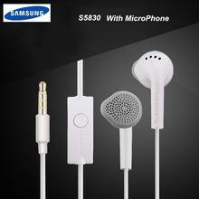Original Samsung EHS61 In-Ear 3.5mm Clear Sound Music Earphone + Mic-Volume Control for Galaxy white