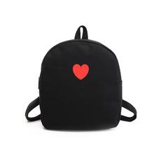Fashion backpack Women Casual Canvas Women Backpacks For Teenage Girls Bag School 1