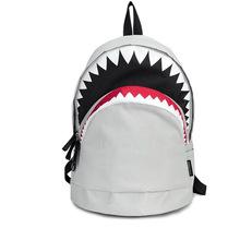 Cool Schoolbag Big Shark Cartoon Backpack Black Bookbags Fashion primary school Backpacks 1