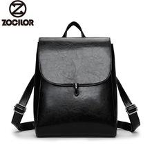 Fashion Women Backpack High Quality Youth Leather Backpacks for Teenage Girls Female School 1