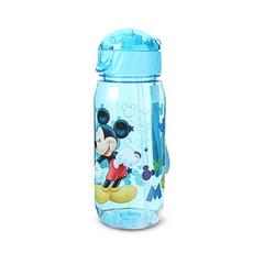 Eco-friendly Kids Drinking Cartoon Water Bottles BPA Free Plastic Straw Children Bottle Children 1 500ml
