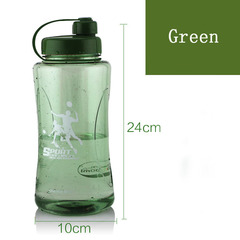 1200ml Sealed Leak Proof Camellia Sports Drinking Water Bottle Portable Travel Metingen Workout green one size