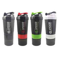 NEW Sports Shaker Bottle Whey Protein Powder Mixing Bottle Sports Nutrition Protein Shaker Fitness blue one size