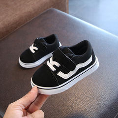 Kids Shoes For Girl Child Canvas Shoes Boys Sneakers Denim 2018 NEW Spring Autumn Fashion Children black 13