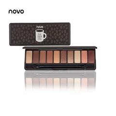 NOVO Fashion eyeshadow palette 10Colors Matte EyeShadow naked palette Glitter eye shadow MakeUp type1