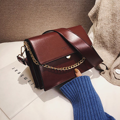 fashion bags handbags women famous brands Chic chain small bag girl 2019 casual hand satchel Korean red one size