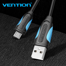 Vention Micro USB Cable Fast Charging Wire for Android Mobile Phone Data Sync Charger Cable 3M 2M 1M black android 1m