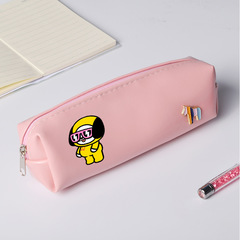 BTS BT21 Bangtang Boys Pencil Case for Girls Quality PU School Supplies Bts Stationery Gift 1