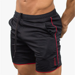 Mens shorts Calf-Length gyms Fitness Bodybuilding Casual Joggers workout Brand sporting short black m