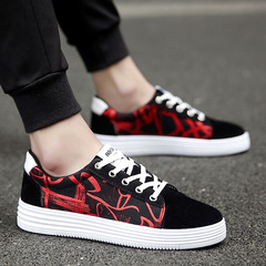 WOLF WHO 2019 Trend Man Lace Up Board Shoes Men Ultralight Unisex Casual Canvas Shoes Male 1 36