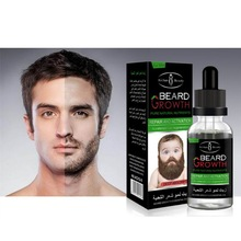 100% Natural Organic Men Beard Growth Oil Beard Wax balm Hair Loss Products Leave-In black