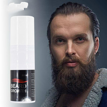 60ml Organic Men Face Beard Growth Spray Mens Grooming Hair Loss Product Mustache picpure