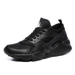 Shoes Men Sneakers Summer Trainers Ultra Boosts Baskets Homme Air Huaraching Breathable Casual black 36
