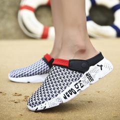 Men Sandals Gladiator Sandals for Men Flat New Home Slippers Lovers Shoes Sandalia Masculina red 39
