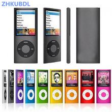 ZHKUBDL 1.8 inch mp3 player 16GB 32GB Music playing with fm radio video player E-book player purple