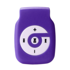 HIPERDEAL 2018 Portable Mp3 Player Mini Clip player mp3 HiFi Music Media Support Micro SD TF purple