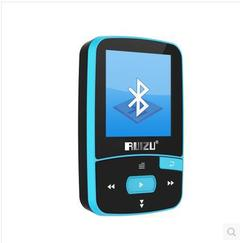 Sport Bluetooth MP3 Music Player 8gb with Clip for Running Lossless HiFi Walkman FM Radio Voice blue