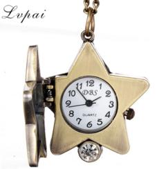 Lvpai Brand Men Watches Top Brand Luxury Vintage Bracelet Pocket Watch white one size