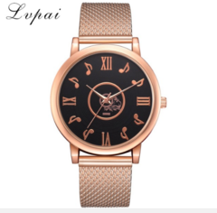 Lvpai Ladies Watches Top Brand Luxury Fashion Dress Sport Watch Roman Note Dial rose gold one size