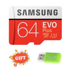 SAMSUNG Memory Card 64GB High-speed storage card for smartphones Give away a card reader elegant red micro sd 64GB sd/tf memory card