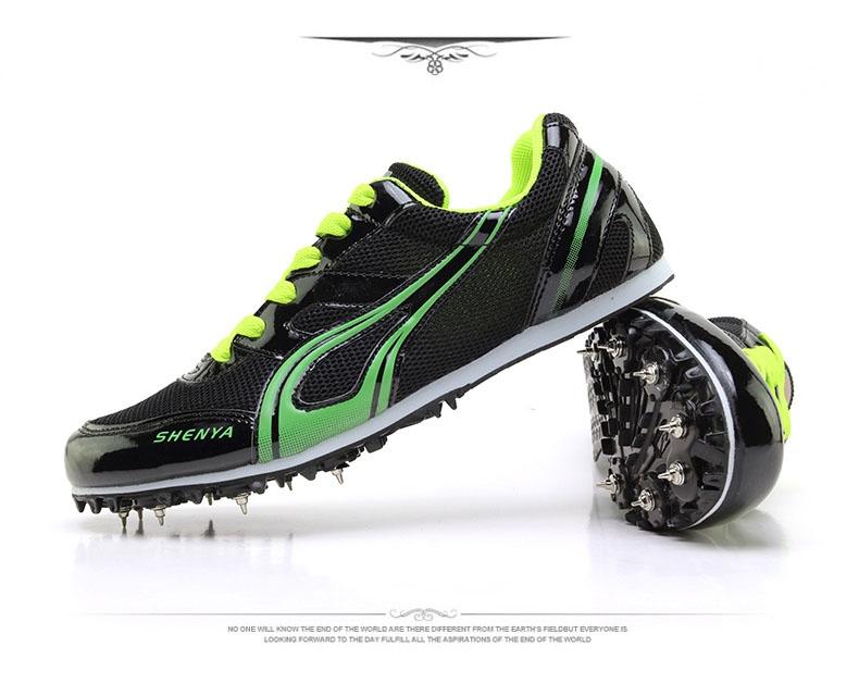 b5df4f1253d6 Men Professional Running Spikes Shoes Women Runner Athletics ...