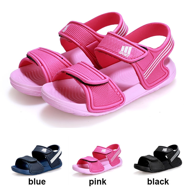 ea86a69467d9 Kids Fashion Breathable Sandals Boys Girls Summer Non-slip Sport Sandals  Baby Cute Velcro Shoes pink 25  Product No  2647704. Item specifics  Brand