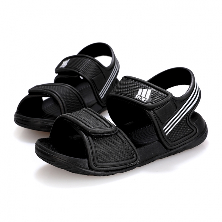 3df9d4ad6ddb Kids Fashion Breathable Sandals Boys Girls Summer Non-slip Sport Sandals  Baby Cute Velcro Shoes