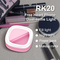 Selfie  Led Light for Camera,make-up mirror, Rechargeable Battery,Clip on  Smart Phone, green 8.5x8.5x3cm