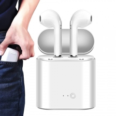 Ryan World Bluetooth Headphones Wireless Earbuds Stereo Earphone Cordless Sport Headsets White