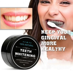 Ryan World 3 cans Teeth Whitening Powder Natural Activated Charcoal Whitening Tooth Teeth Toothpaste 3 cans