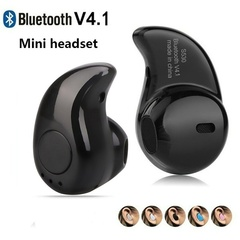 Ryan World New Mini Invisible Ultra Small New Bluetooth Sport  Stereo Earbud Headset white