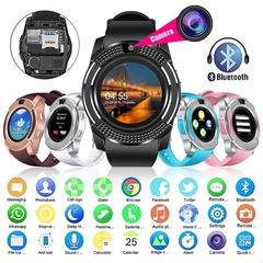 Ryan World Wireless Smart Watch Bluetooth Reminder Monitor Anti-lost Camera for All Cellphone black one-size